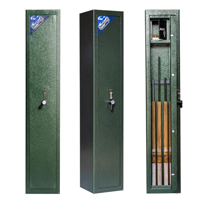 Wapenkluis S1 gecertificeerd voor 4 geweren en munitie [Aanbieding]