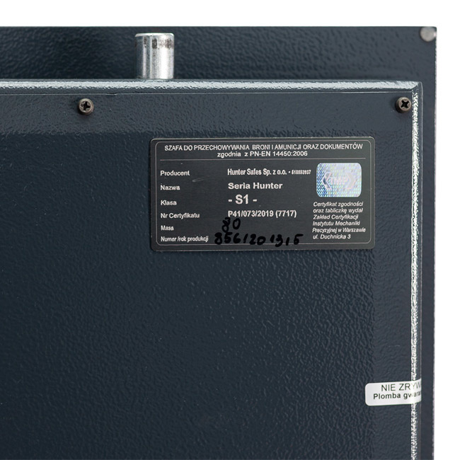 NL-Wapenkluis 1001 G-1 extra - 28 cm diep