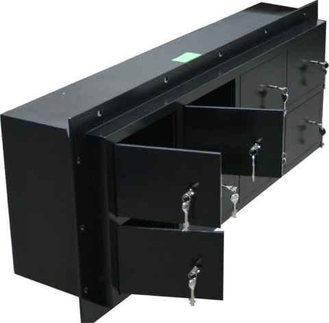 Inbouw pistool unit