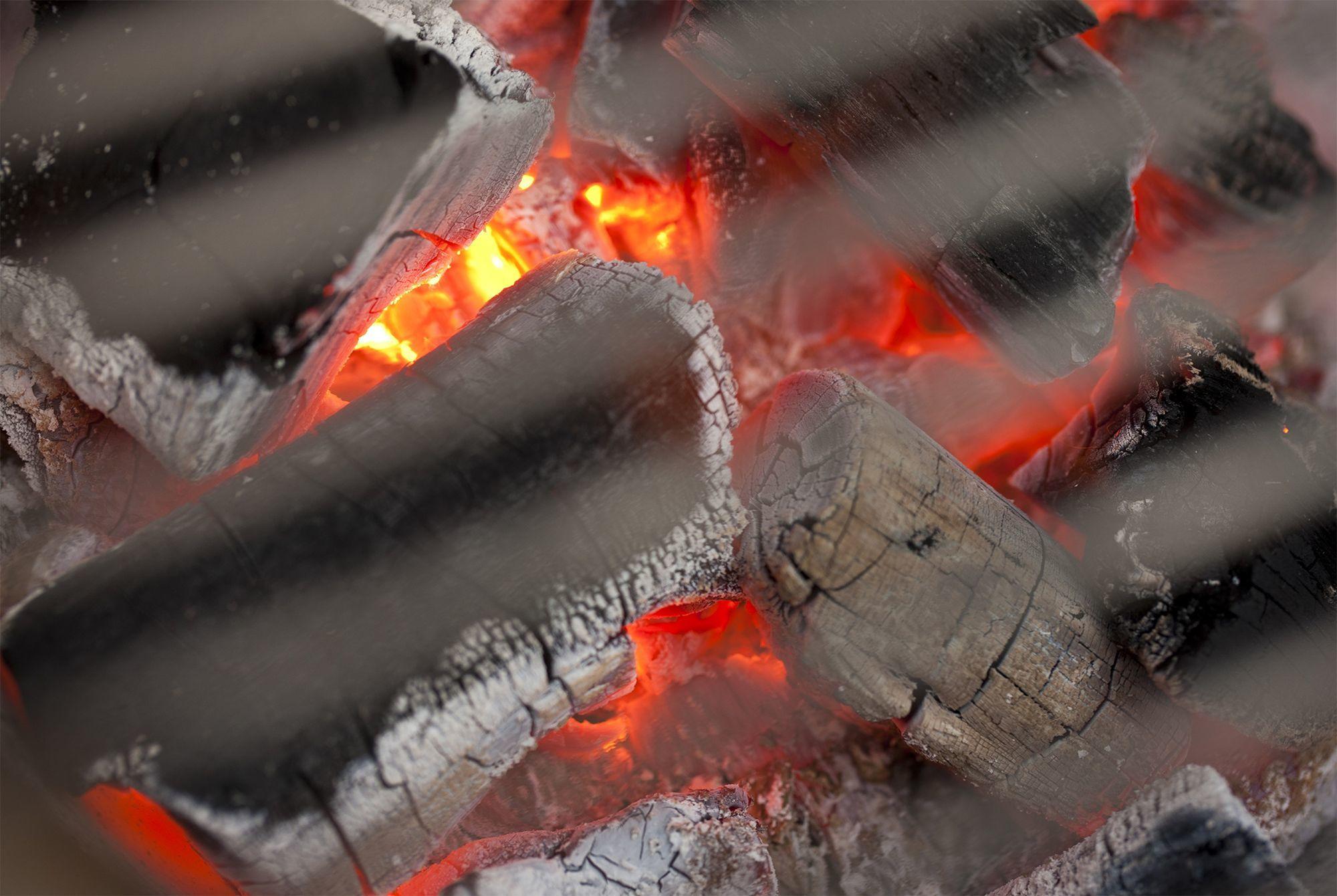 Koken in een Kamado