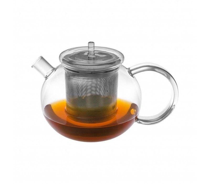 GOGO TEA glass teapot with permanent filter