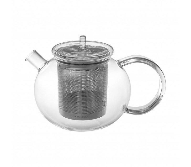 GOGO TEA Glasteekanne mit Dauerfilter