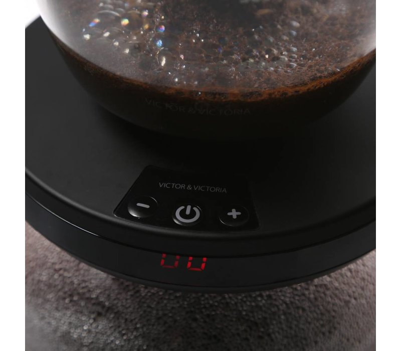 Coffee & Tea TaC. Never miss the brewing time again.
