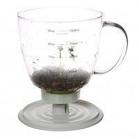 Tea filter with automatic drawing time
