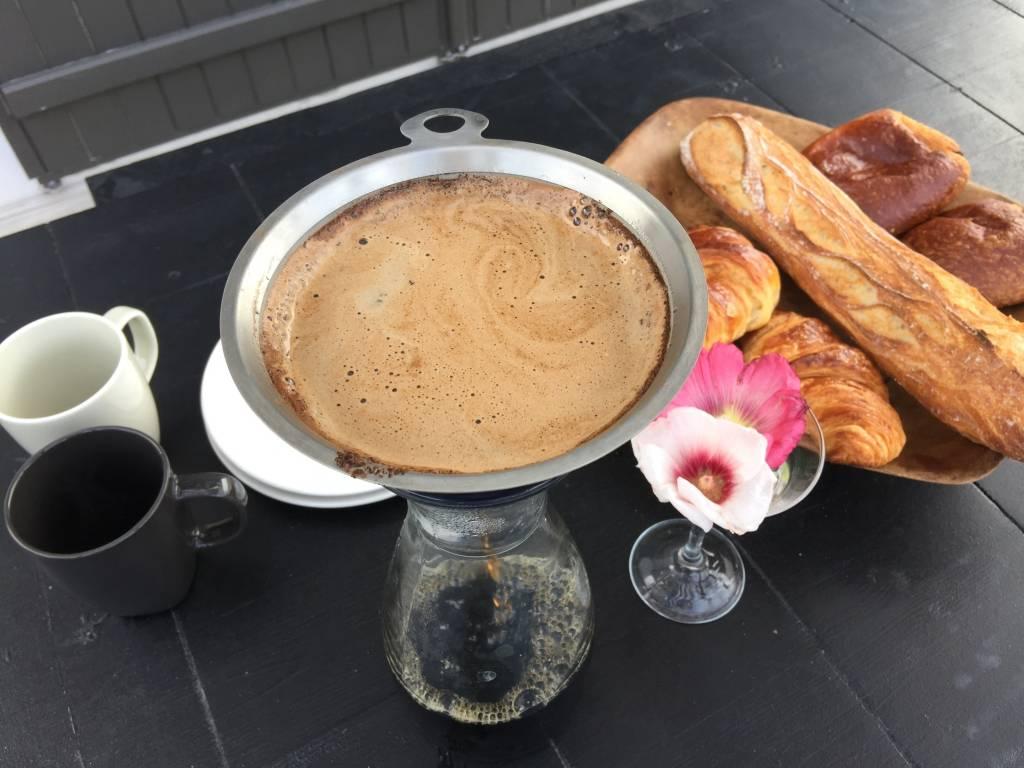 Kaffee im Ferienhaus