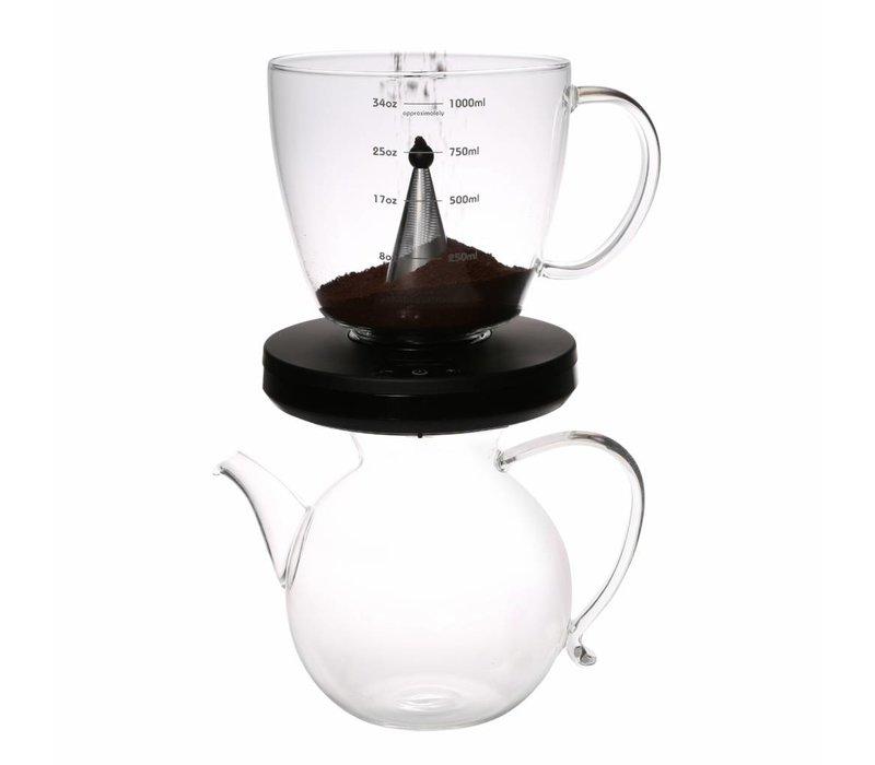 Coffee & Tee TaC. Nie mehr die Ziehzeit verpassen.