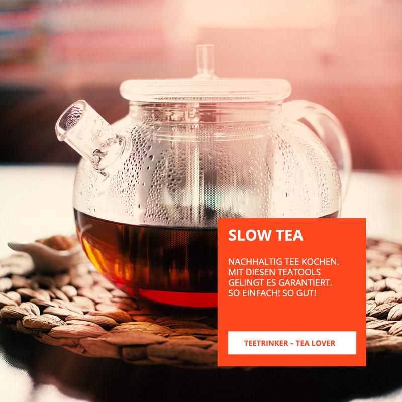 Perfekter Tee mit den carlhenkel Tee Tools
