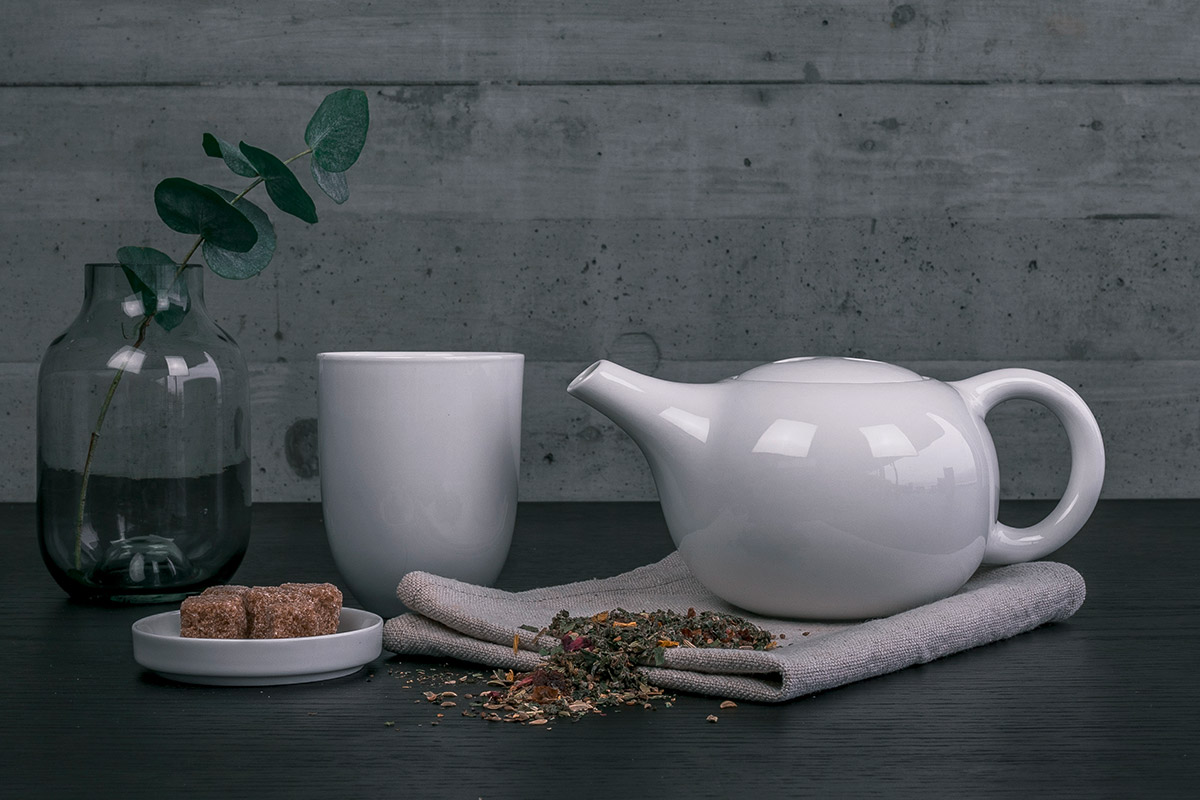 Die richtige Teekanne