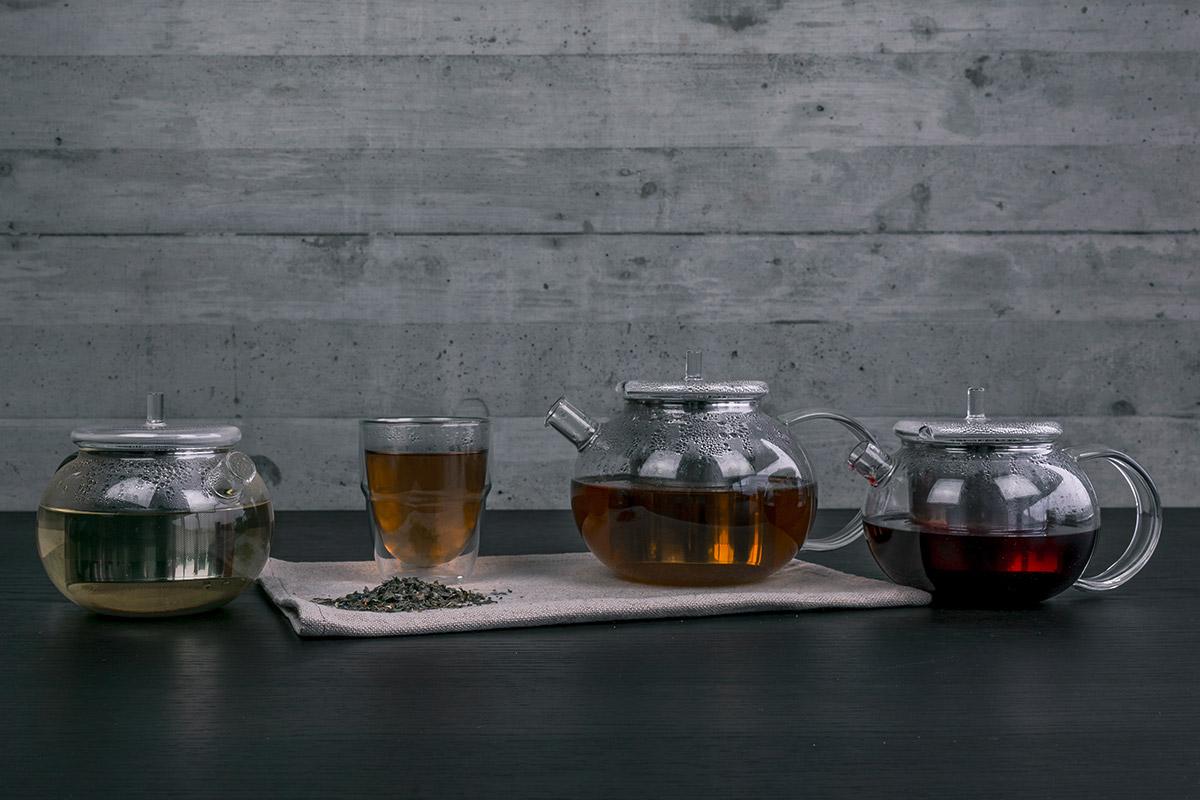 Umweltfreundlich Tee brühen