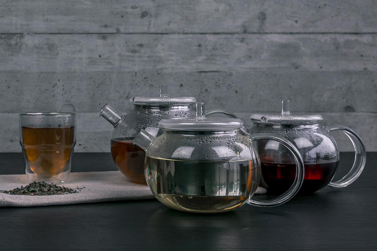 GOGO Teekanne - verschiedene Teesorten