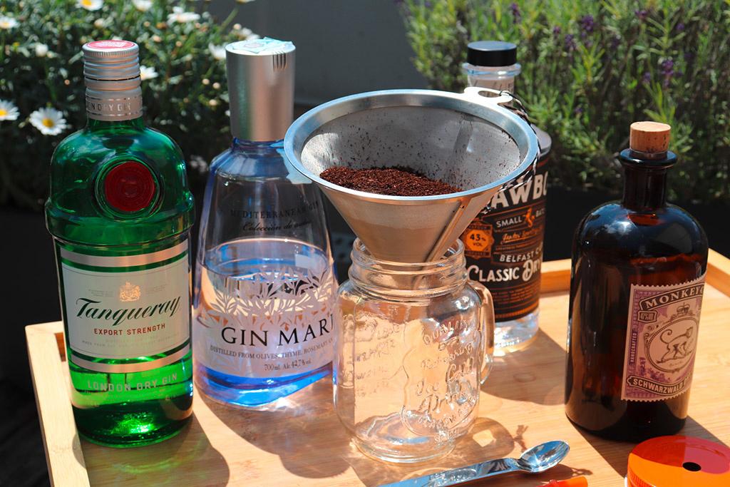 Das ideale Sommergetränk   -   ICED GIN COFFEE