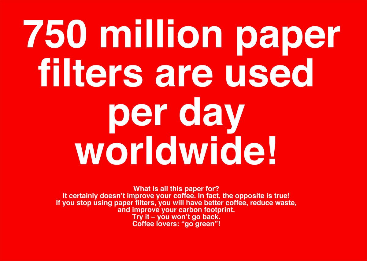No Filter no Paper