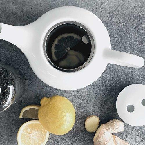 GINGER – LEMON – GREEN TEA. BOOST YOUR IMMUNSYSTEM!