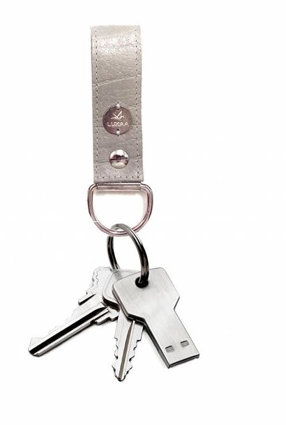 Key ring made of genuine leather