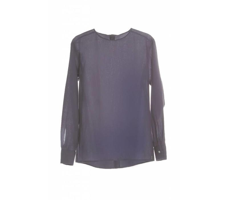 Langarm-Shirt mit Rückendetail