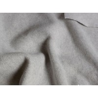Rock aus Bio-Baumwoll-Fleece softgrau