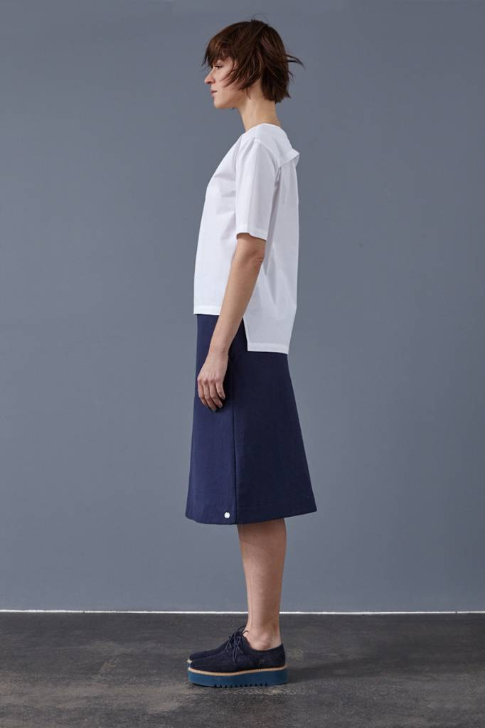 Skirt made from organic cotton fleece - Copy-3