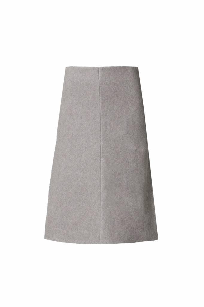 Skirt made from organic cotton fleece - Copy-5