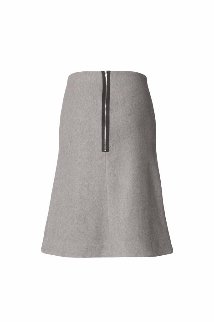 Skirt made from organic cotton fleece - Copy-7