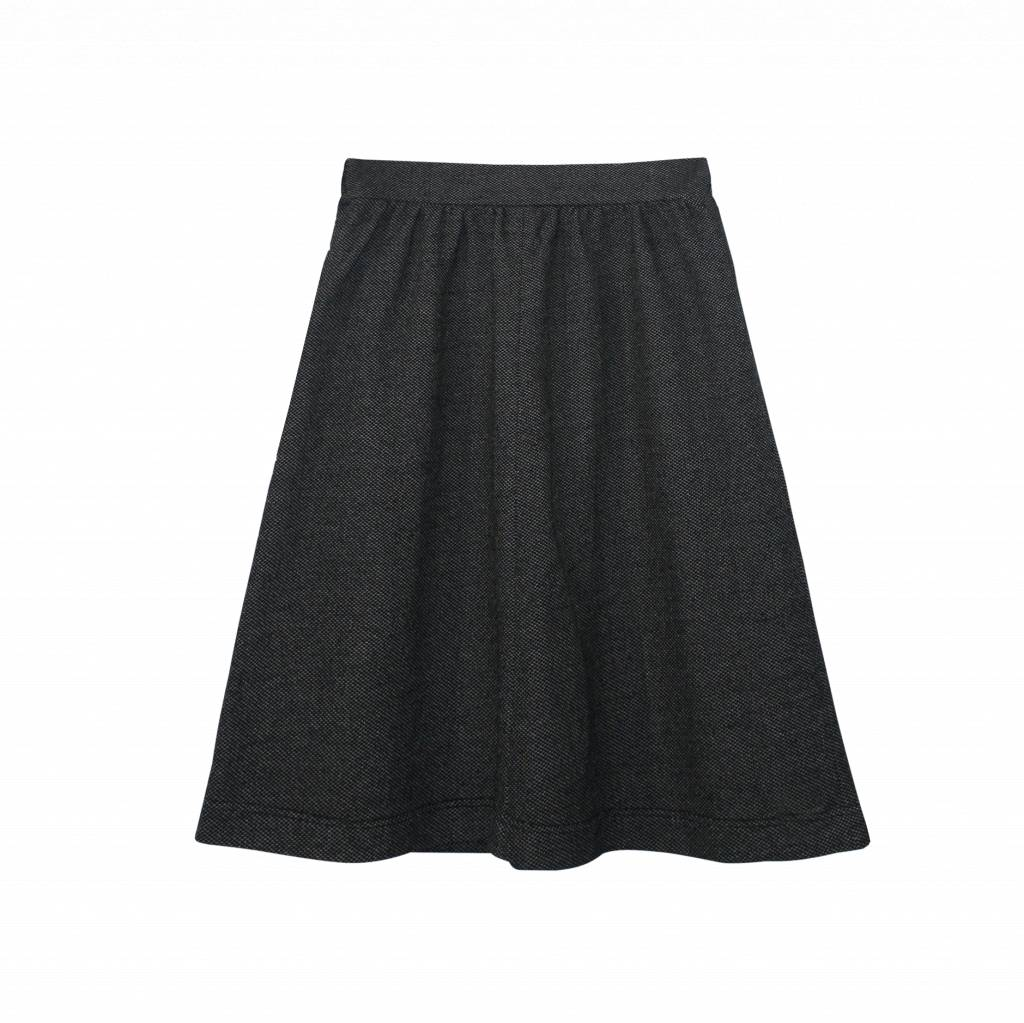 Skirt made of delicately patterned organic cotton-1
