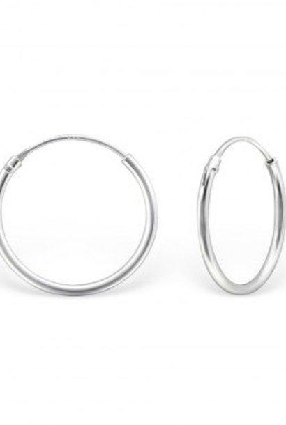Kleine Creolen Ohrringe - 925er Sterling Silber