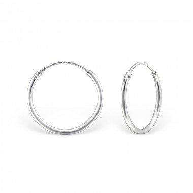 Kleine Creolen Ohrringe - 925er Sterling Silber-1