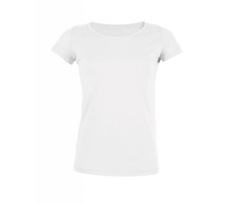 Basic T-Shirt aus Bio-Baumwolle - Weiß