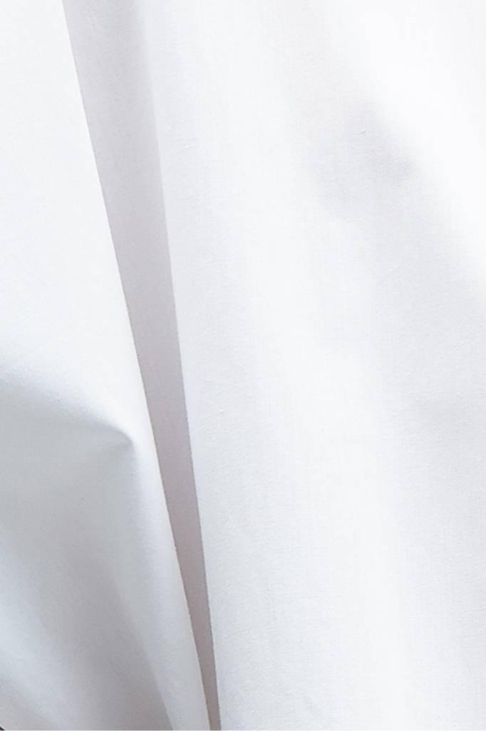 Statement Bluse aus Bio-Baumwolle - Weiß-7