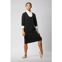 Organic Cotton Business Dress - Black
