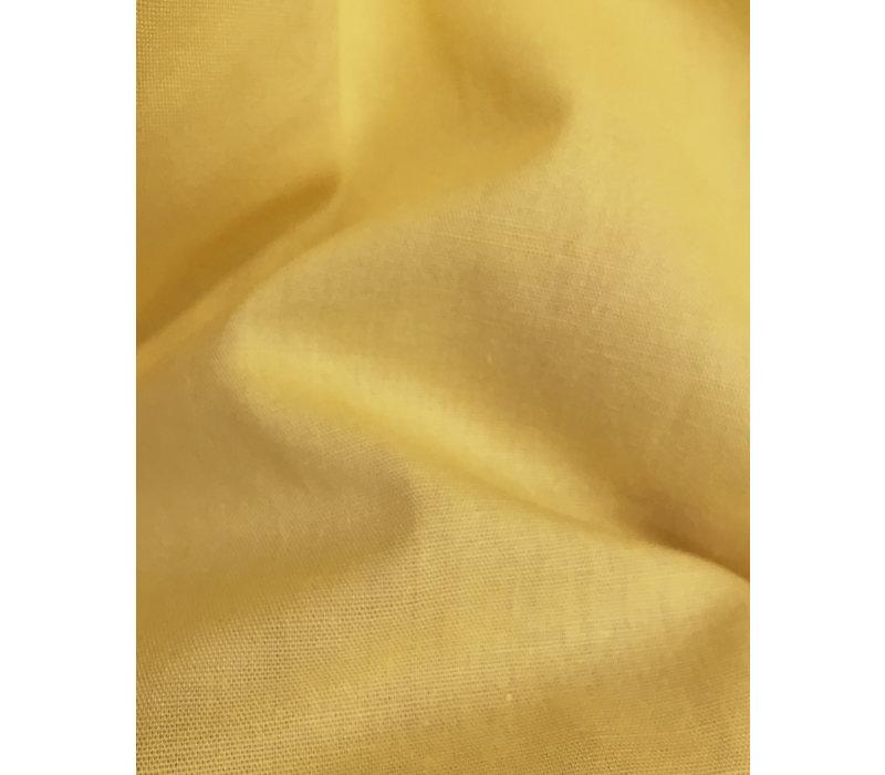 Rock aus Bio-Baumwoll-Batist in Gelb