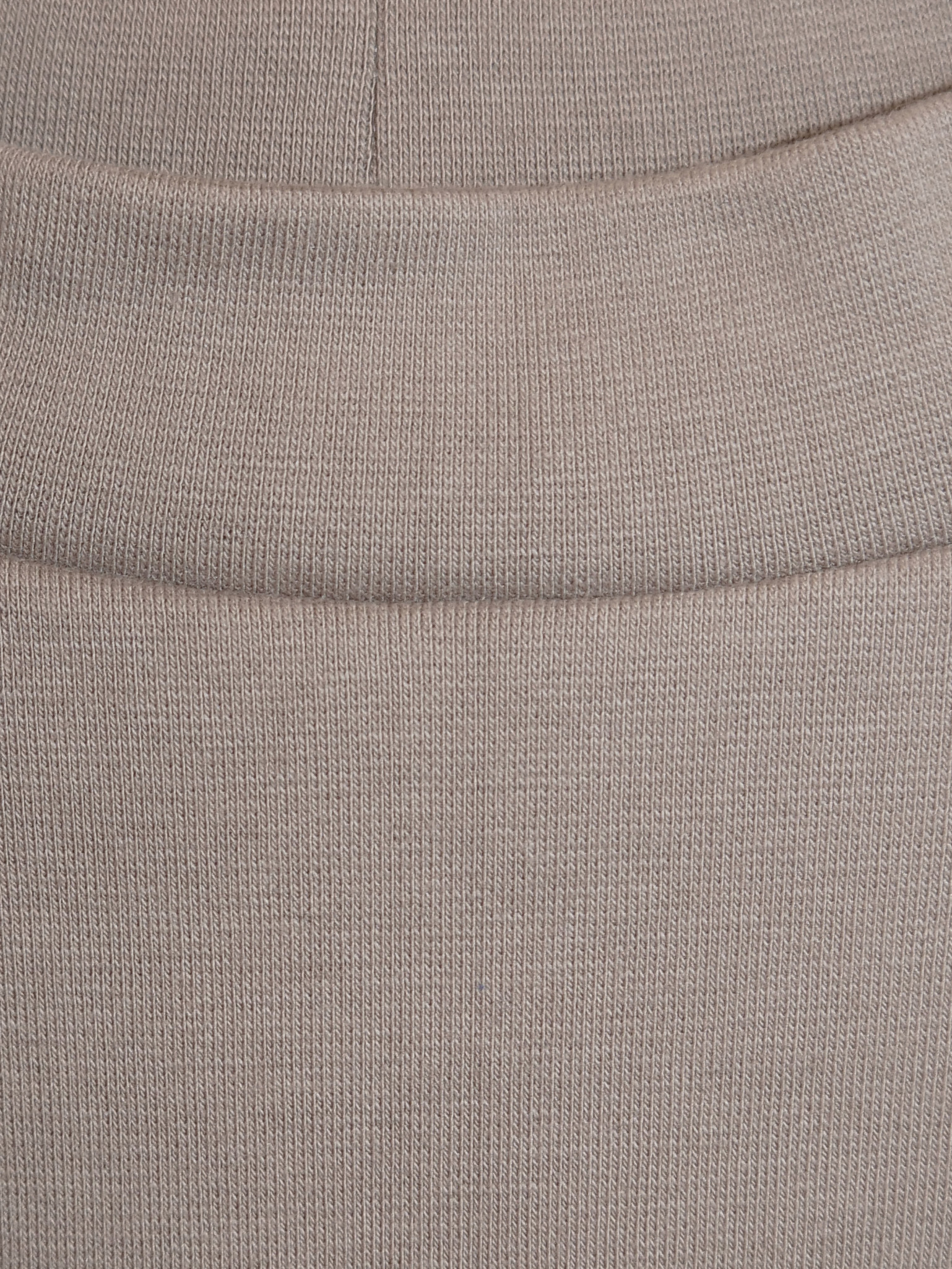 Slim cotton skirt - taupe-4