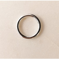 Thick Ring Sterling Silver