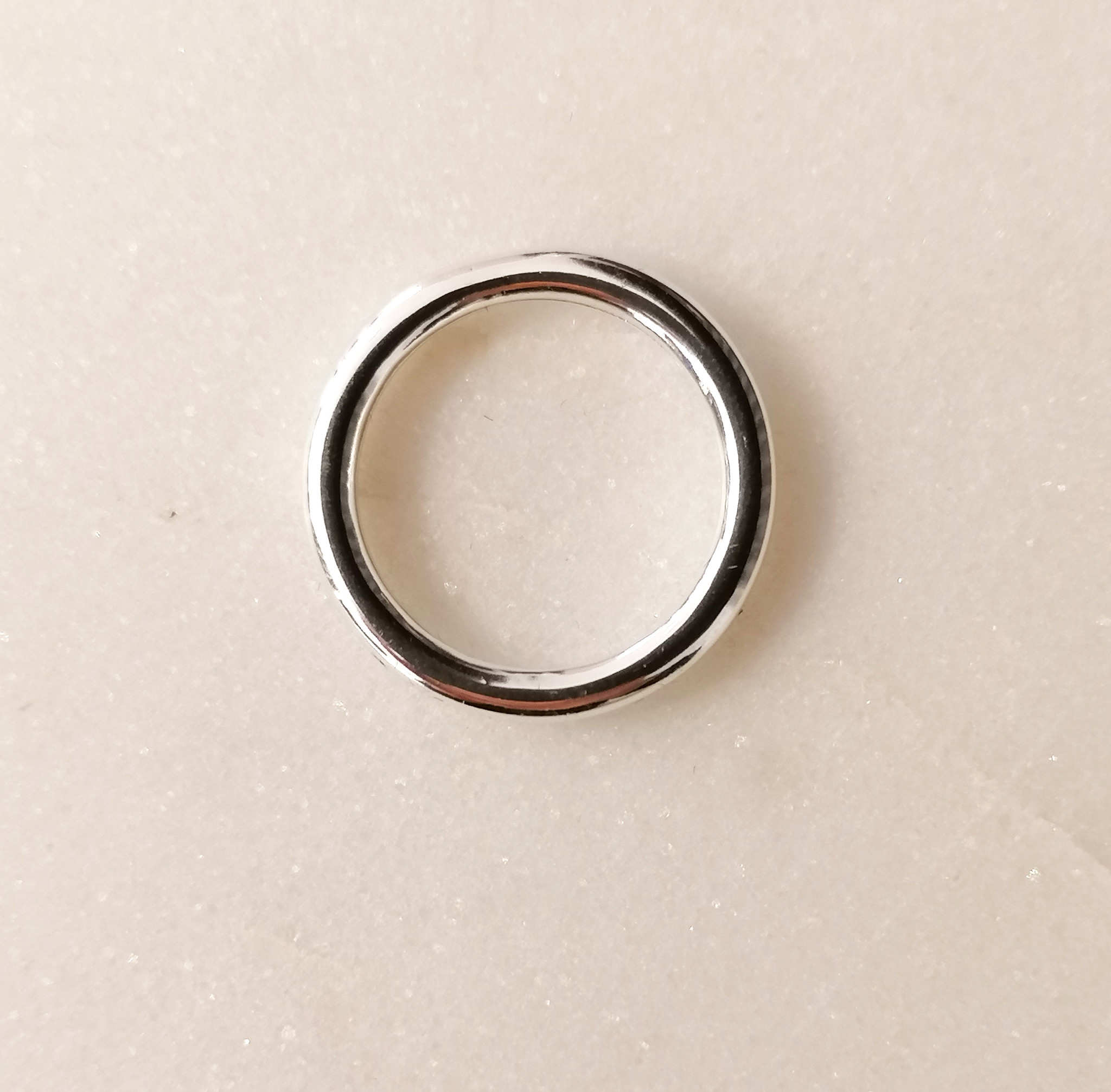 Thick Ring Sterling Silver-3