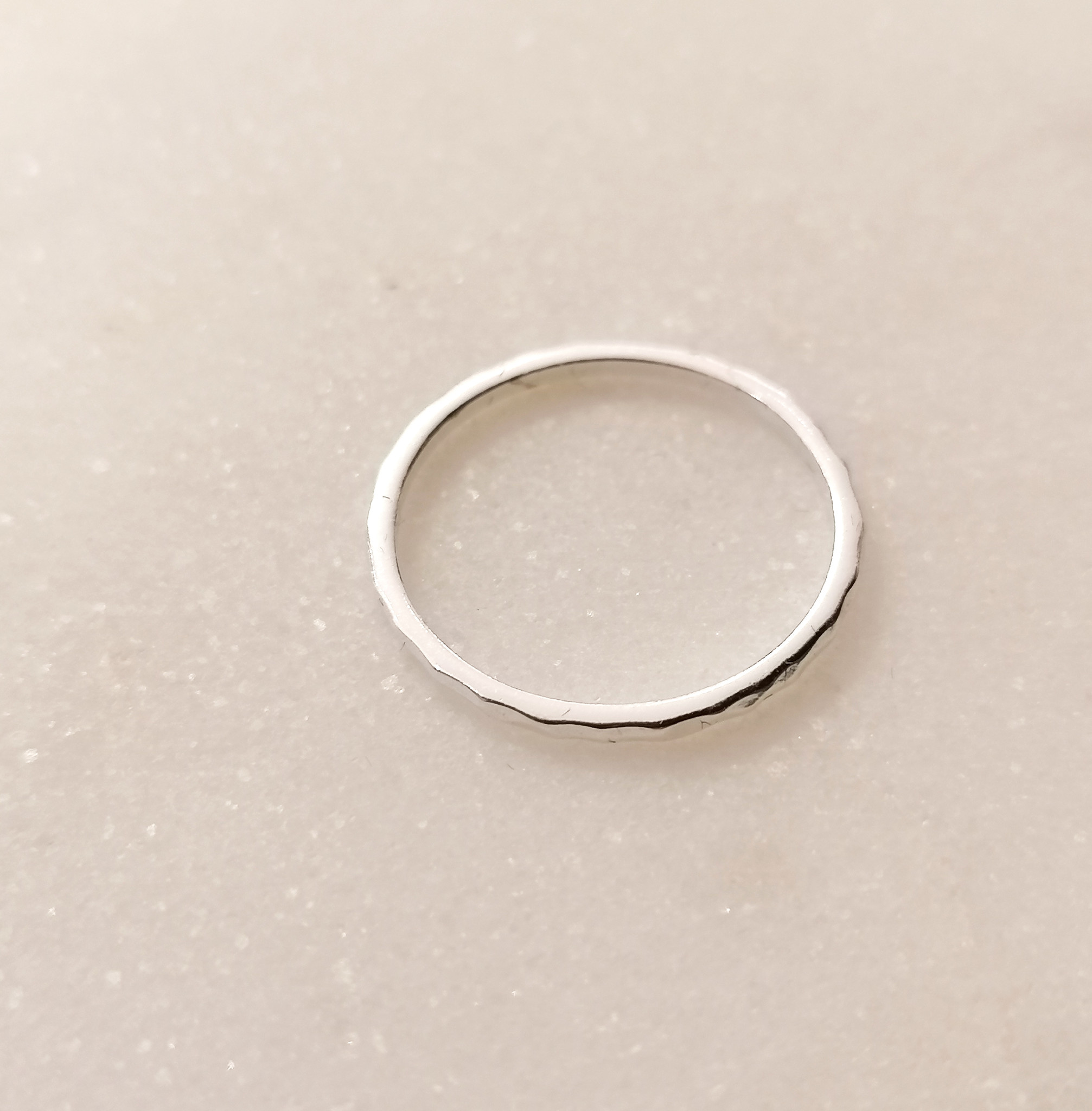 Ring with structure in 925 sterling silver-4