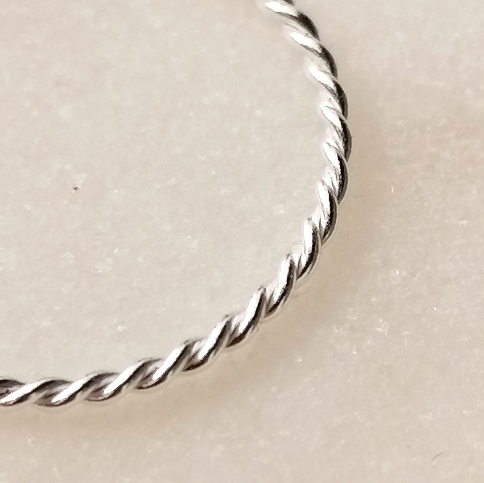 Fine braided ring of 925 sterling silver-5