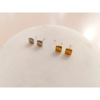 Soft ear plug square