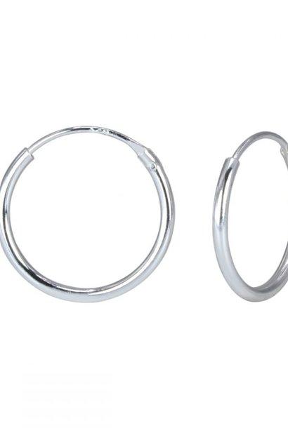 Kleine Creolen Ohrringe (10mm)- 925er Sterling Silber