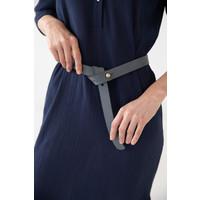 Narrow Luxaa leather belt