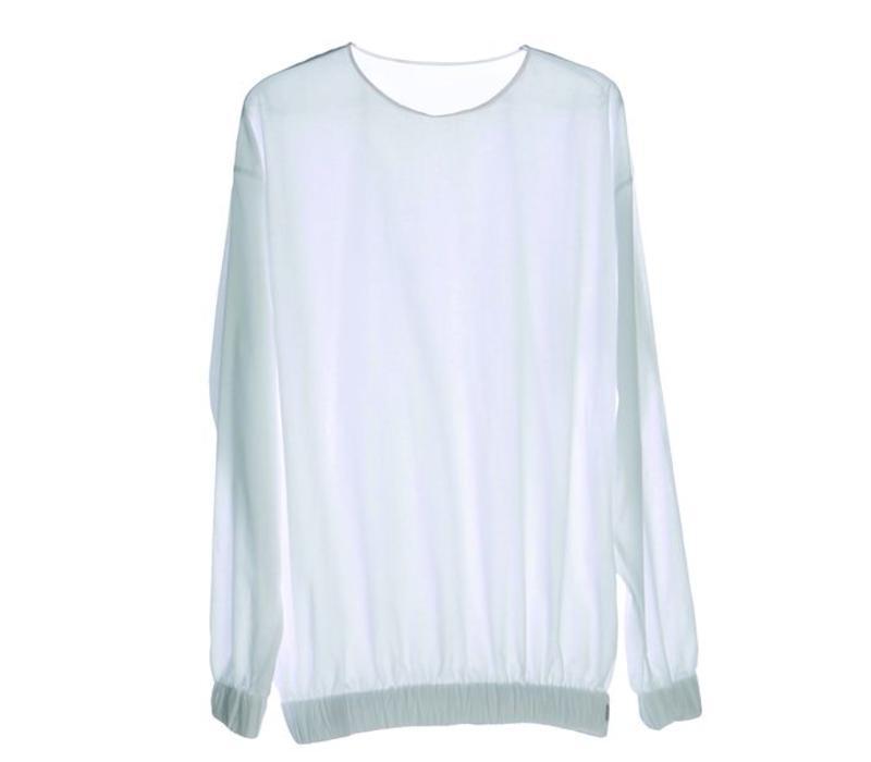 Langarm-Shirt aus Bio-Baumwoll-Batist