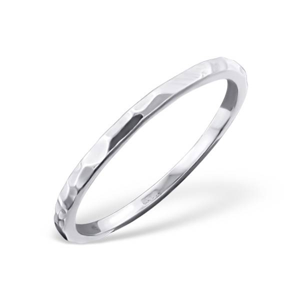 Ring with structure in 925 sterling silver-1