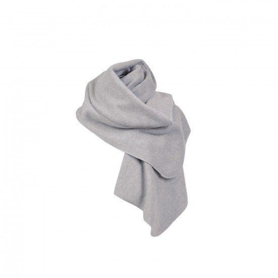Scarf from organic cotton fleece-8
