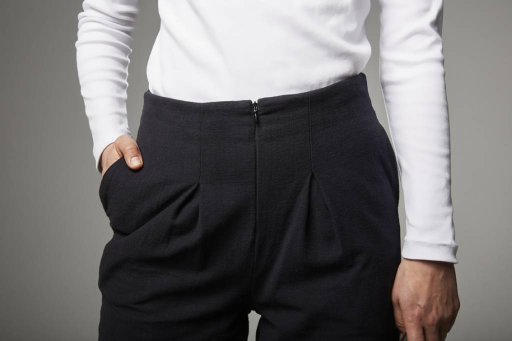 Trousers made of organic cotton flannel-4