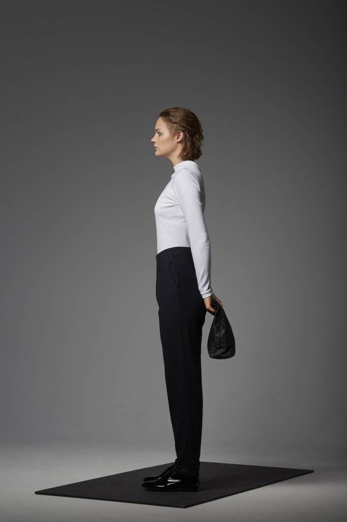Trousers made of organic cotton flannel-2