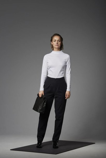 Trousers made of organic cotton flannel