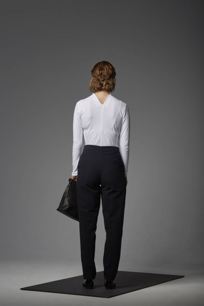 Trousers made of organic cotton flannel-3