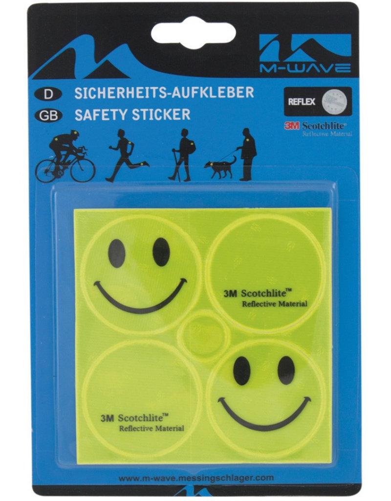 M-Wave 3M Scotchlite™ Reflecterende Sticker Set