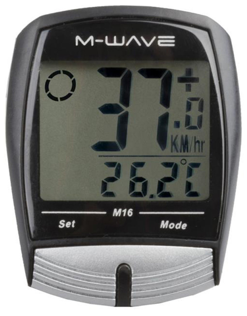 M-Wave M-WAVE M  Fietscomputer 16 Functies
