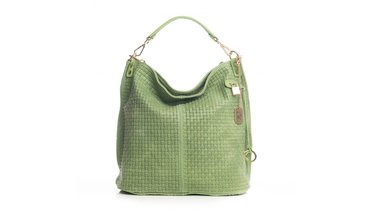 Prachtige Anna Morellini handtas - groen