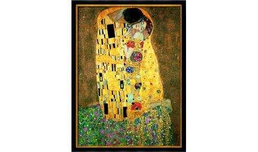 Klimt, De Kus ( 1907-08)