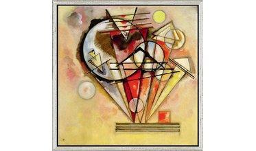 Kandinsky, Auf Spitzen (1928)
